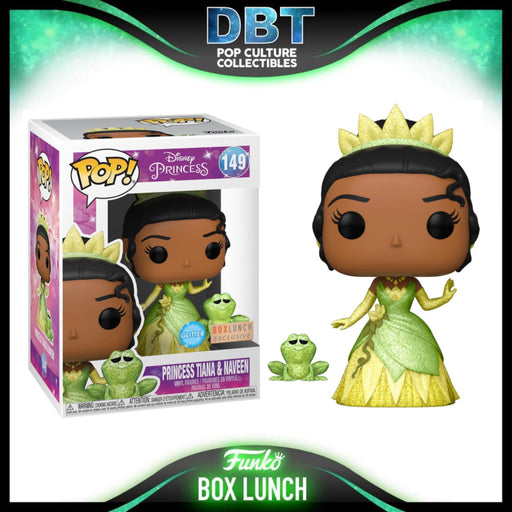 Disney: Princess Tiana & Naveen Diamond Collection Box Lunch Exclusive Funko Pop