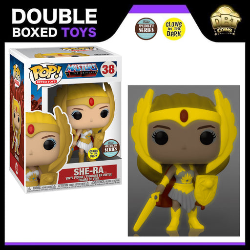 Masters of the Universe: Classic She-Ra GITD Speciality Series Funko Pop