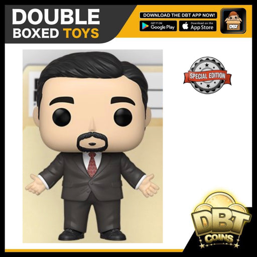 The Office: Michael Klump Exclusive Funko Pop