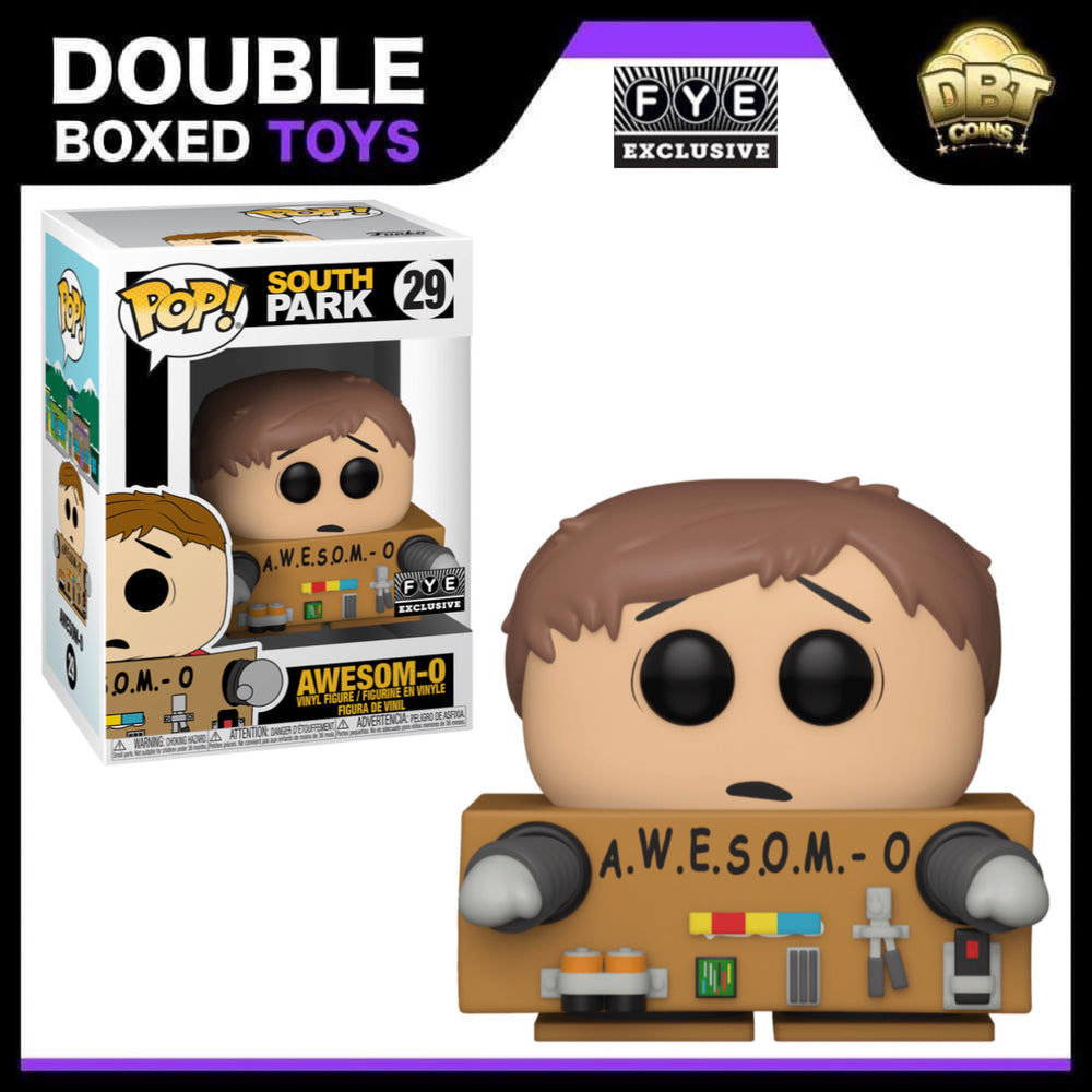 South Park: Awesom-O (Unmaked) FYE Exclusive Funko Pop