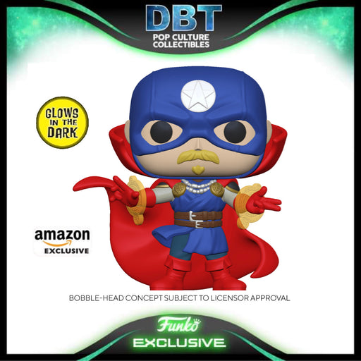 Marvel Infinity Warps: Soldier Supreme GITD Amazon Exclusive Funko Pop