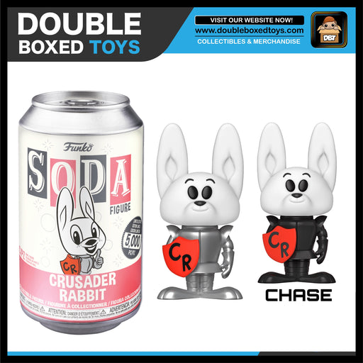 Vinyl Soda: Crusader Rabbit - Crusader Rabbit (London Toy Fair 2020) (with Chance of Chase)