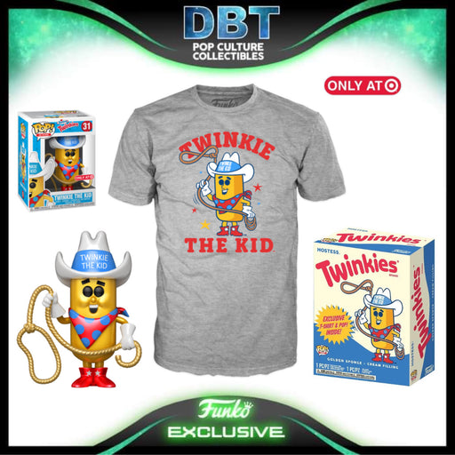 Ad Icons: Metallic Twinkie Pop & Tee Target Exclusive Collectors Box
