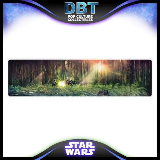 Star Wars Forest Moon Duel by Rich Davies Lithograph Art Print