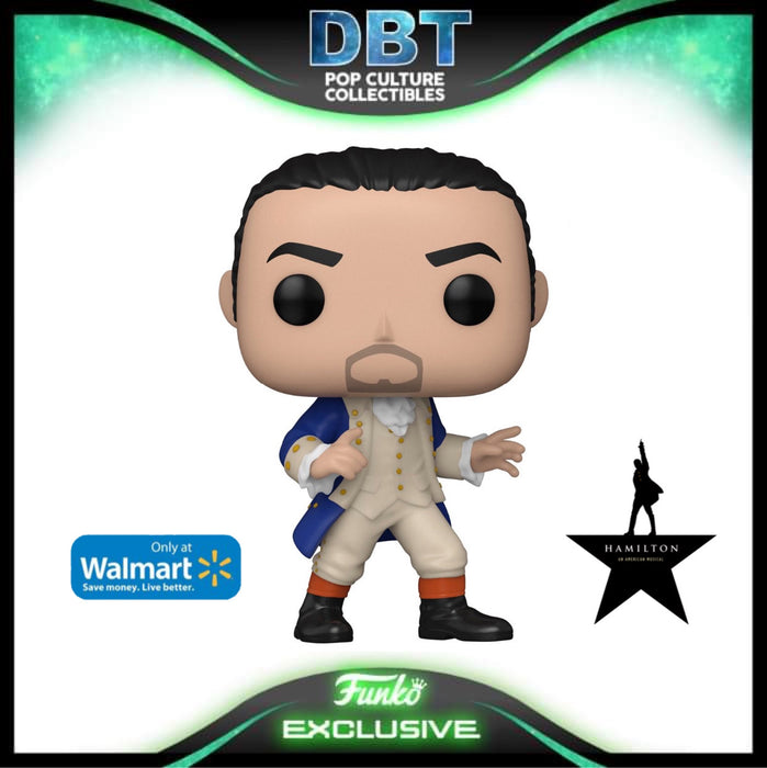Hamilton: Alexander Hamilton (Blue Coat) Walmart Exclusive Funko Pop