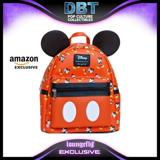 Disney Loungefly - Mickey 3D Applique Ears Mini Backpack