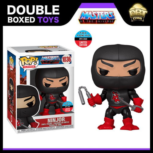 Masters of the Universe: Ninjor NYCC 2020 Toy Tokyo Exclusive Funko Pop
