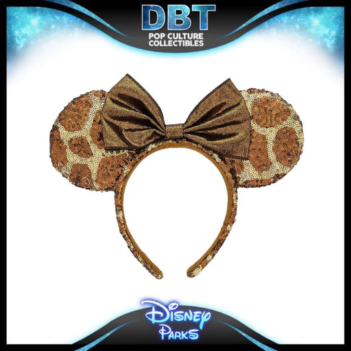 Disney Minnie Mouse Animal Kingdom Exclusive Giraffe Ears  - Disney Parks Exclusive