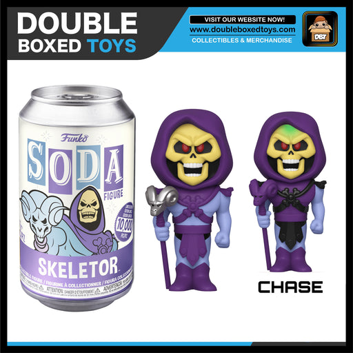 Vinyl Soda: Masters of the Universe - Skeletor (London Toy Fair 2020) (with Chance of Chase)