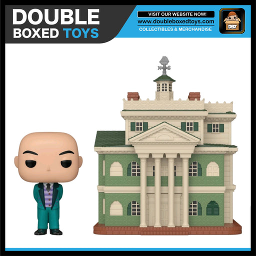 Haunted Mansion: Haunted Mansion with Butler Funko Pop Town