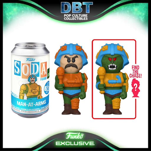 Masters of the Universe: Man-At-Arms ECCC 2021 Exclusive LE7500 Vinyl Soda (with chance of chase)