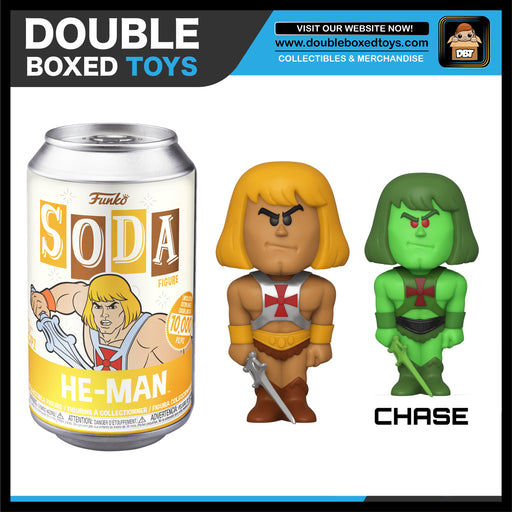 Vinyl Soda: Masters of the Universe - He-Man (London Toy Fair 2020) (with Chance of Chase)