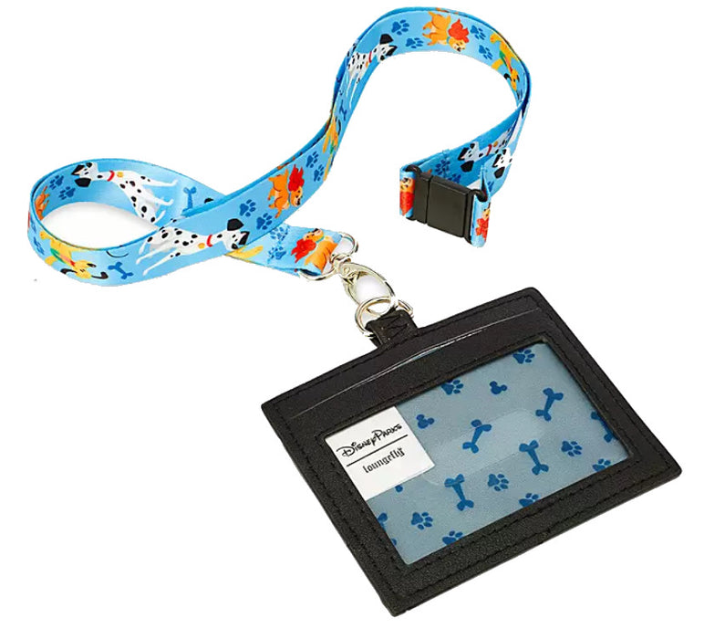 Disney Dogs Loungefly Lanyard and Card Holder - Disney Parks Exclusive