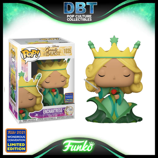 Disney Beauty and the Beast: Enchantress Wonderous Convention 2021 Exclusive Funko Pop