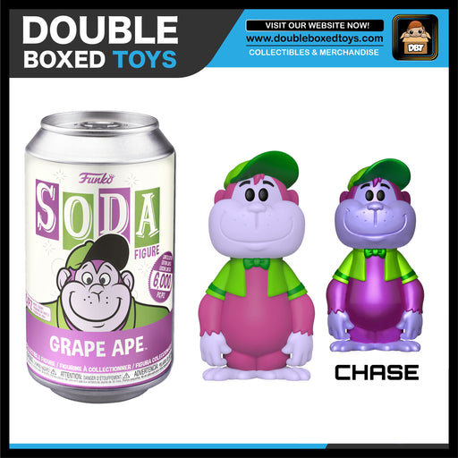 Vinyl Soda: Hanna Barbera - Great Grape Ape (London Toy Fair 2020) (with Chance of Chase)