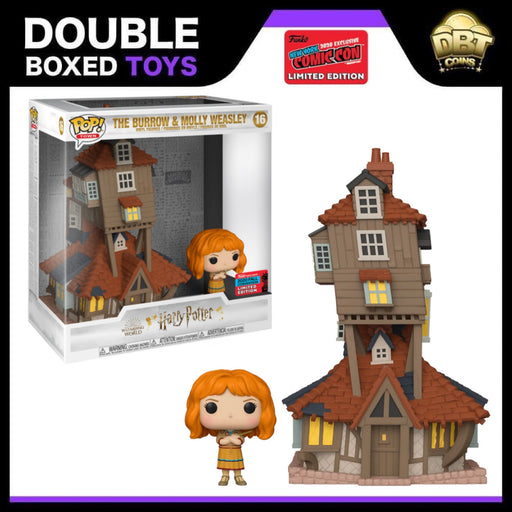 Harry Potter: Molly Weasley & The Burrow NYCC 2020 Exclusive Funko Pop Town