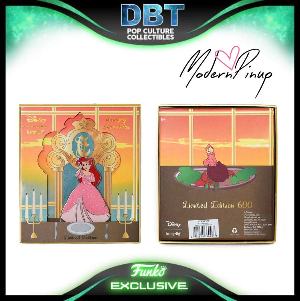 Disney Loungefly - The Little Mermaid Ariel Collector Box Enamel Pin LE600 - Modern Pinup Exclusive