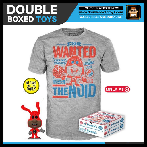 Ad Icons Domino's: GITD The Noid Pop & Tee Target Exclusive Collectors Box