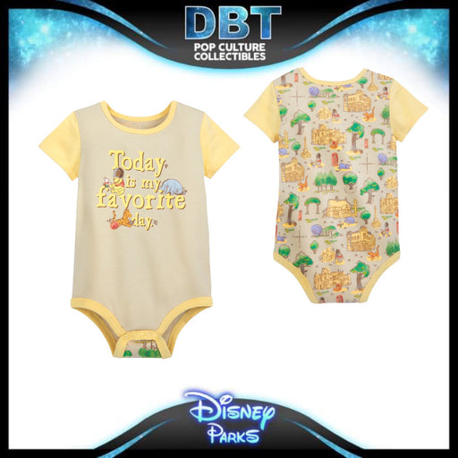 Winnie the Pooh Classic Bodysuit for Baby – Epcot - Disney Parks Exclusive
