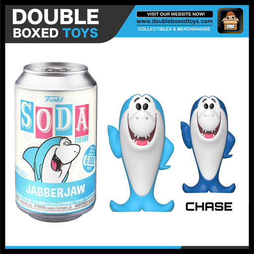 Vinyl Soda: Hanna Barbera - Jabberjaw (London Toy Fair 2020) (with Chance of Chase)