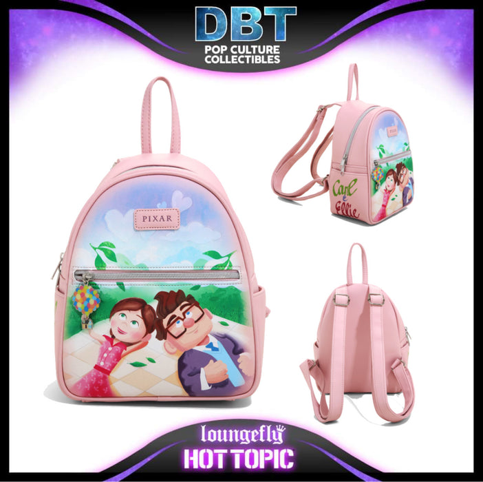 Loungefly Disney Pixar - Up Carl & Ellie Mini Backpack  - Hot Topic Exclusive