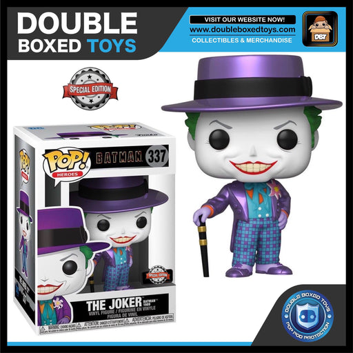 Batman: The Joker (Metallic) Exclusive Funko Pop