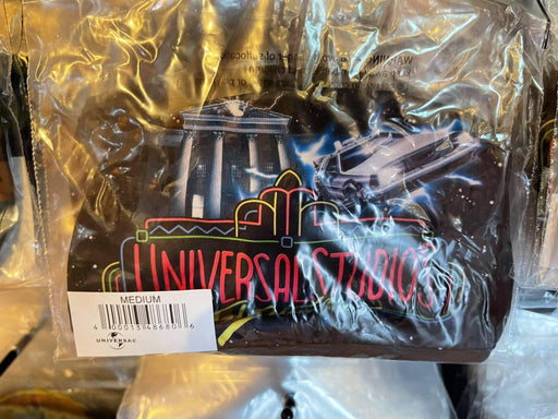 Universal Studios Neon Sign Back To The Future Face Mask - Adult
