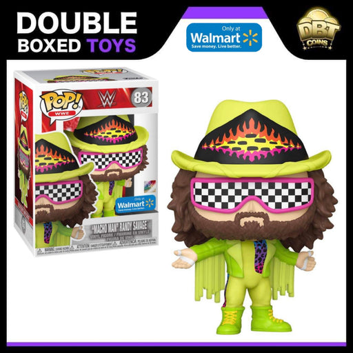WWE: Macho Man Randy Savage Walmart Exclusive Funko Pop