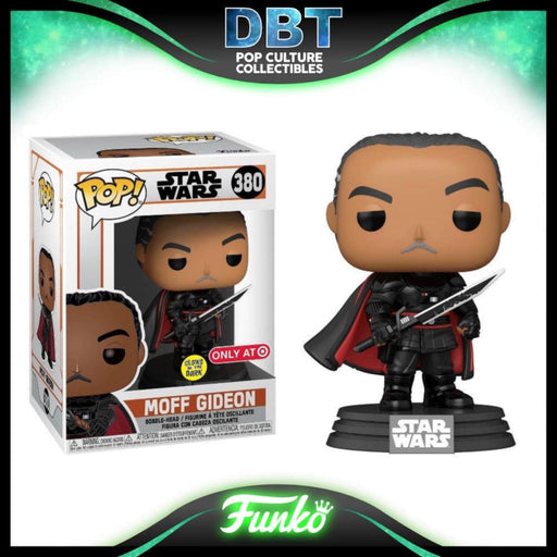 Star Wars The Mandalorian: GITD Moff Gideon Target Exclusive Funko Pop
