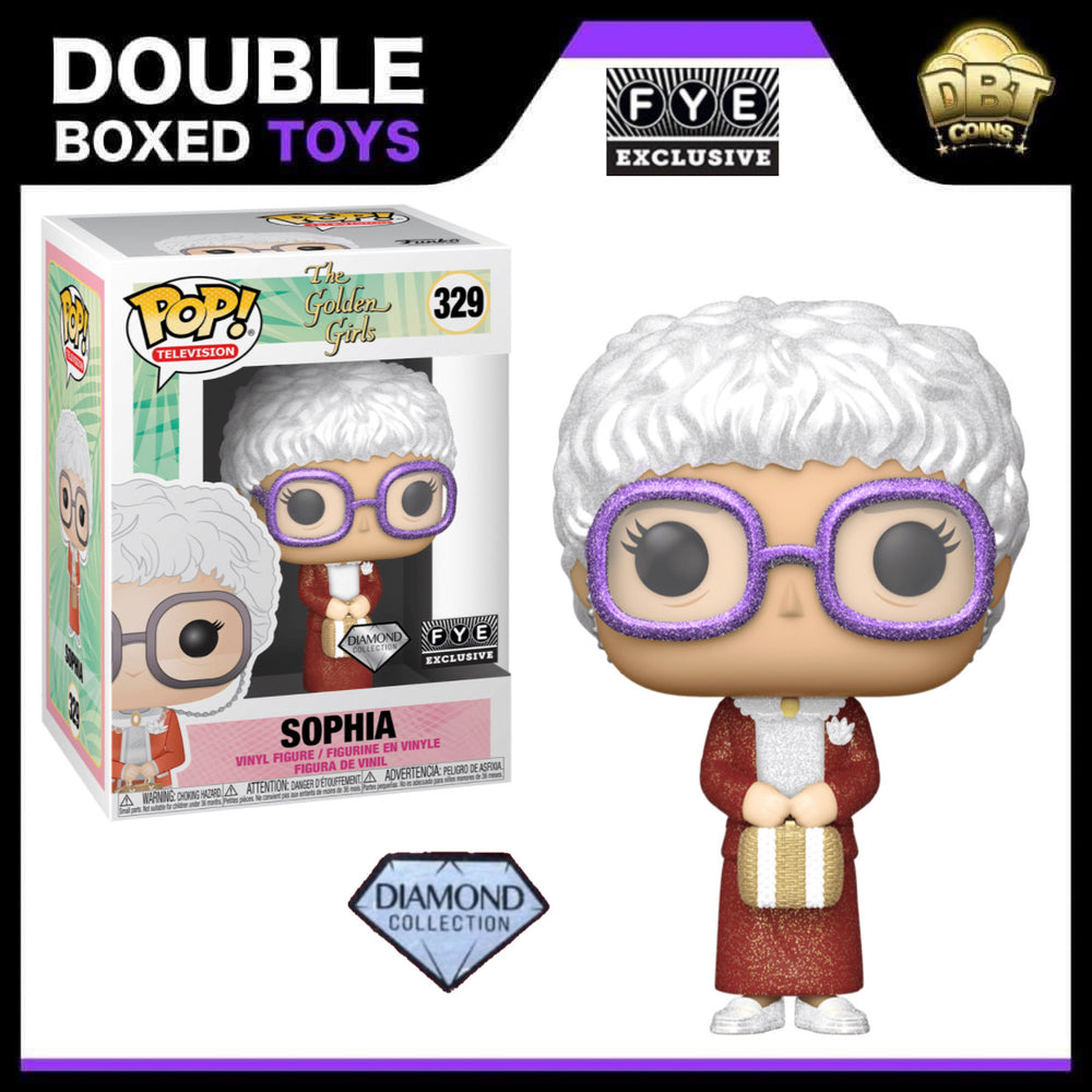 The Golden Girls: Sophia Diamond Collection FYE Exclusive Funko Pop