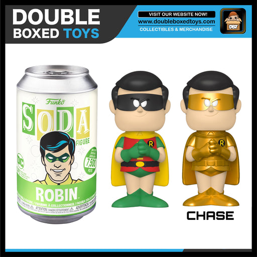 Vinyl Soda: DC Comics - Robin (London Toy Fair 2020) (with Chance of Chase)