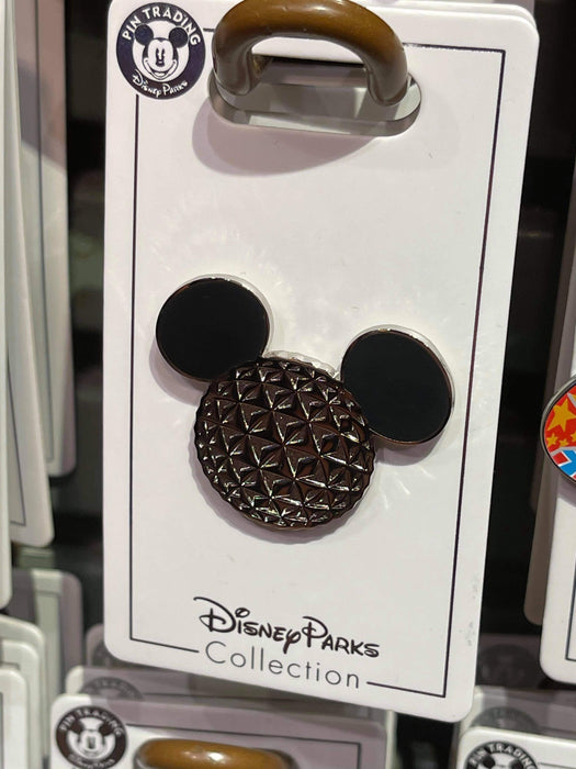 Disney Parks 'Pin Trader' Mickey Epcot Face Pin