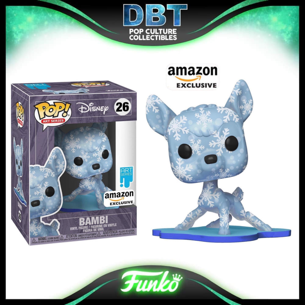 Disney Art Series: Bambi Amazon Exclusive Funko Pop