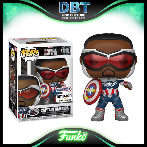 Marvel Falcon and the Winter Soldier: Captain America - Sam Wilson (Year of the Shield) Amazon Exclusive Funko Pop