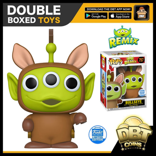 Disney Pixar Alien Remix: Alien as Bullseye Funko-Shop Exclusive Funko Pop