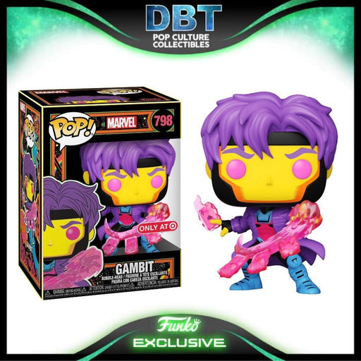 Marvel X-Men Classic: Blacklight Gambit Target Exclusive Funko Pop