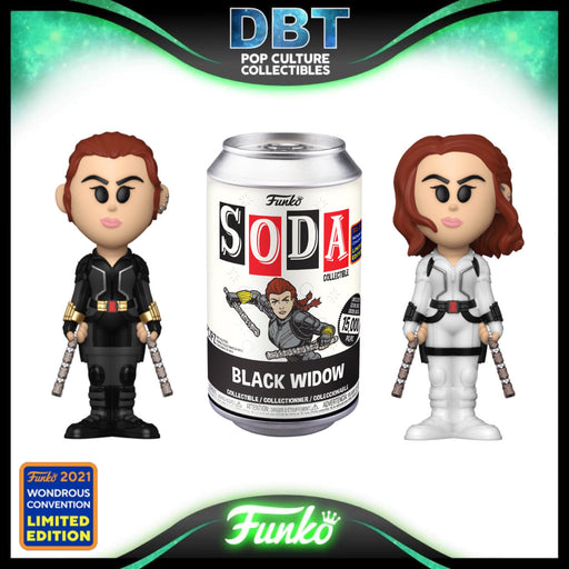 Marvel: Black Widow Wonderous Convention 2021 Exclusive LE15000 Vinyl Soda (with chance of chase)