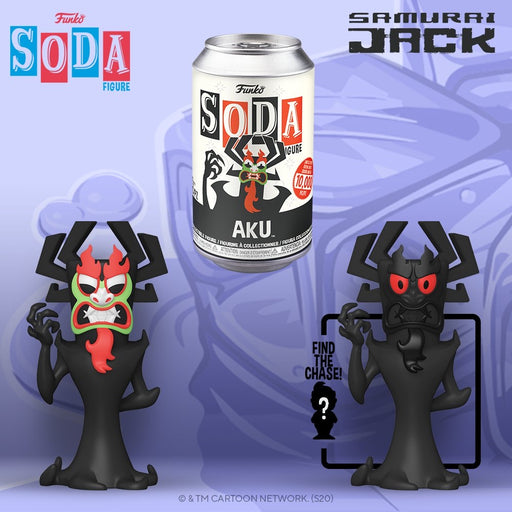 Vinyl Soda: Samurai Jack - Aku LE10000 (with Chance of Chase)