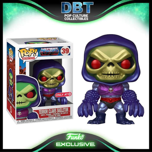 Masters of the Universe: Terror Claws Skeletor Target Exclusive Funko Pop