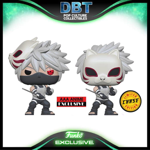 Naruto Shippuden: Kakashi Anbu AAA Anime Exclusive Funko Pop (1:6 Chance of Chase)