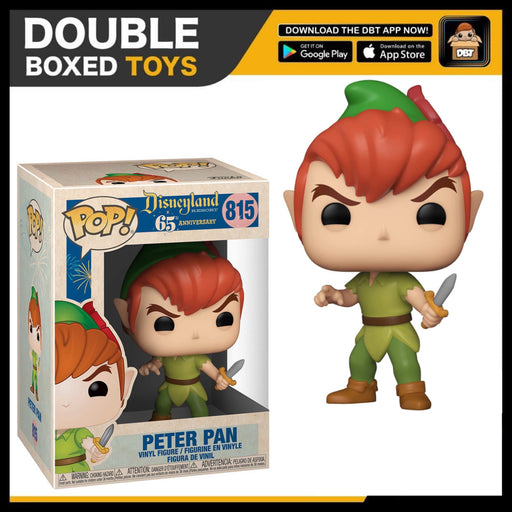 Disneyland 65th: Peter Pan Funko Pop