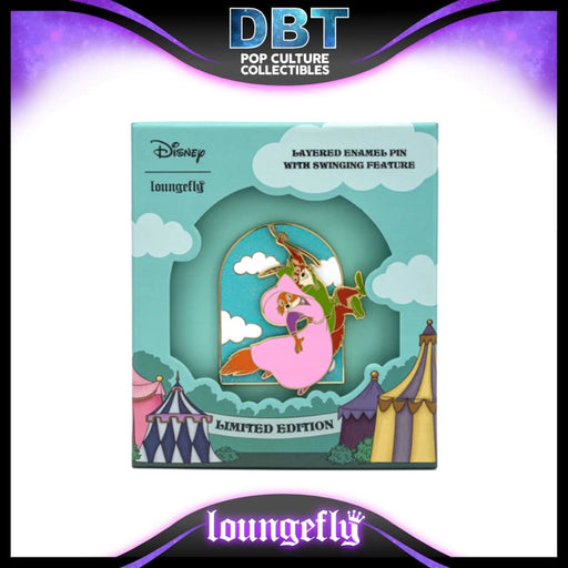 Disney Loungefly - Robin Hood Rescues Maid Marian Collector Box Sliding Enamel Pin LE1200