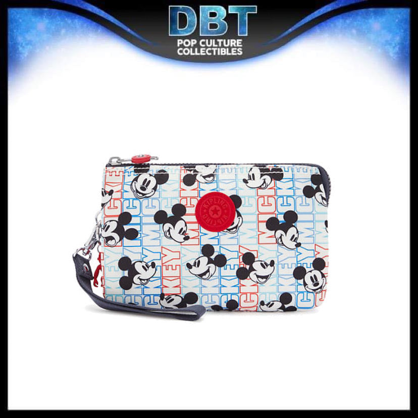 Disney Mickey Wristlet Creativity Extra Large - Kipling Exclusive