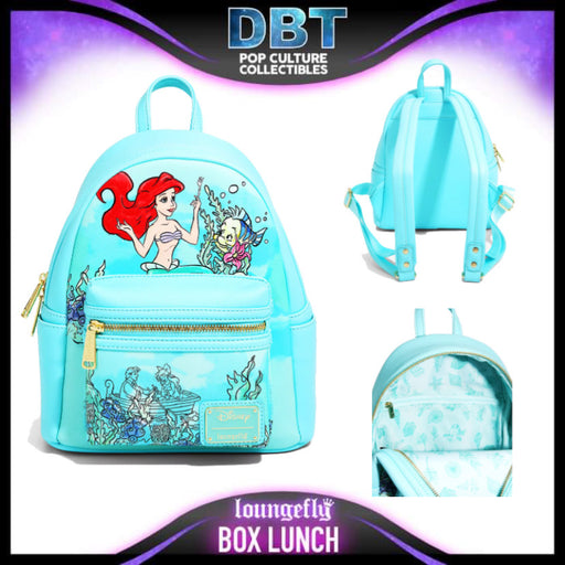 Loungefly Disney The Little Mermaid Kiss the Girl Mini Backpack - BoxLunch Exclusive