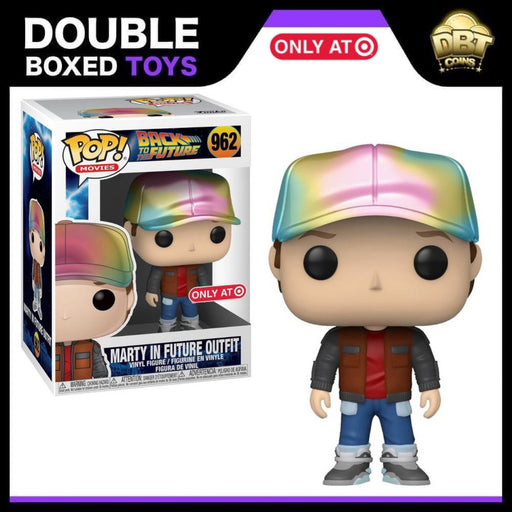 Back to the Future: Marty in Future Outfit Target Exclusive Funko Pop