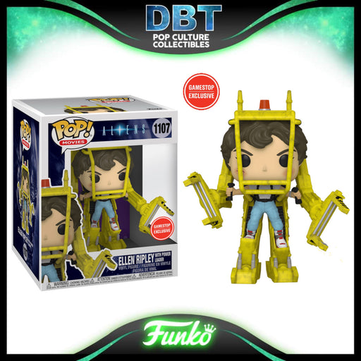 Aliens: Power Loader with Ellen Ripley GameStop Exclusive Super Sized Funko Pop