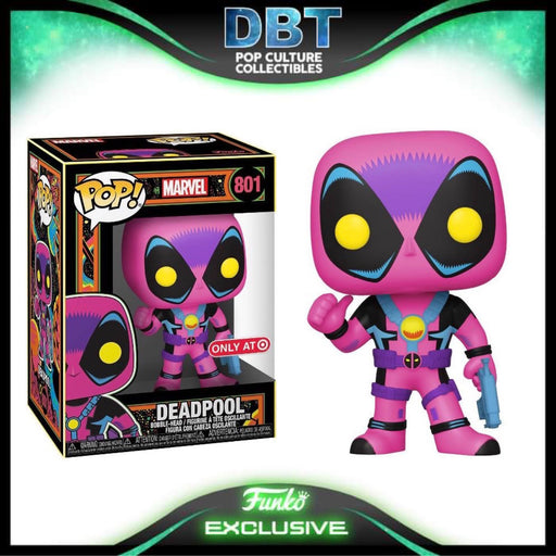 Marvel X-Men Classic: Blacklight Deadpool Target Exclusive Funko Pop