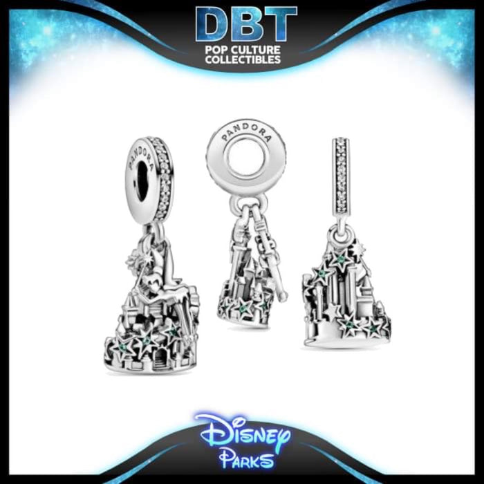 Disney Pandora - Tinker Bell and Castle of Magical Dreams - Disney Parks Exclusive