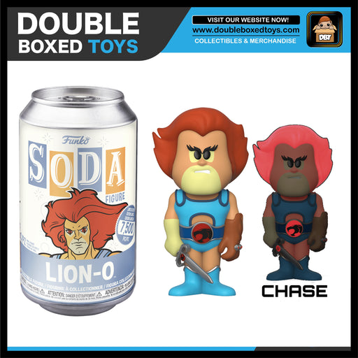 Vinyl Soda: Thundercats - Lion-O (London Toy Fair 2020) (with Chance of Chase)