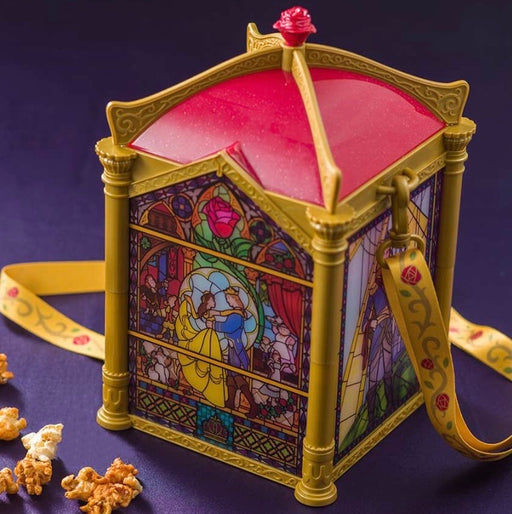 Beauty & The Beast Light-up Popcorn Bucket - Tokyo Disneyland Resort